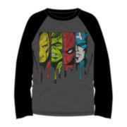 Avengers Raglan Long-Sleeve Tee - Boys 8-18