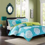 Intelligent Design Liliana Damask Comforter Set