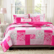 Mizone May Patchwork Quilt Set