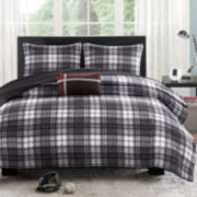 Mizone David Plaid Quilt Set
