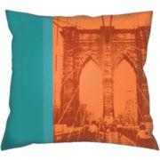 Brooklyn Bridge Decorative Pillow
