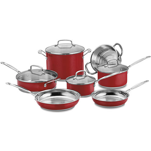 Cuisinart® Chef's Classic™ 11-pc. Stainless Steel Cookware Set