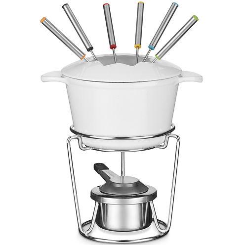 Cuisinart® 13-pc. 1.5-qt. Cast Iron Fondue Set