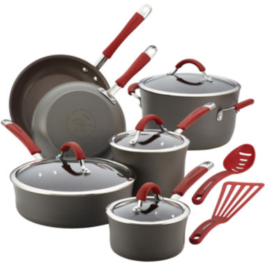 jcpenney.com | Rachael Ray® Cucina 12-pc. Hard-Anodized Cookware Set