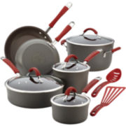 Rachael Ray® Cucina 12-pc. Hard-Anodized Cookware Set + $20 Mail-in Rebate