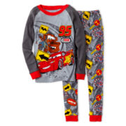 Disney Collection Cars 2-pc. Pajamas – Boys 2-10