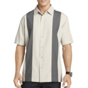 Van Heusen® Short-Sleeve Novelty Paneled Shirt