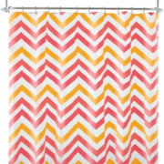 Home Expressions™ Chevron Shower Curtain