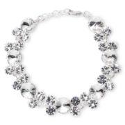 Vieste® Crystal Bubble Bracelet