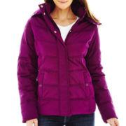 St. John's Bay® Hooded Puffer Jacket