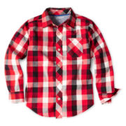 Arizona Long-Sleeve Woven Shirt - Boys 6-18 and Husky