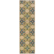 Country Cross Indoor/Outdoor Rectangular Rugs