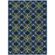 Country Cross Indoor/Outdoor Rectangular Rug
