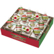 Shiny Brite Holiday Splendor Set of 12 1¾