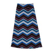 by&by Girl Printed Maxi Skirt - Girls 7-16
