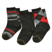 Gold Toe® 3-pk. Dress Crew Socks - Boys