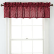 Royal Velvet® Lawton Rod-Pocket Pleated Valance
