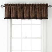 Royal Velvet® Corbin Rod-Pocket Tailored Valance