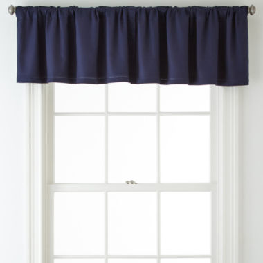 jcpenney.com | JCPenney Home™ Jenner Cotton Thermal Rod-Pocket/Back-Tab Valance