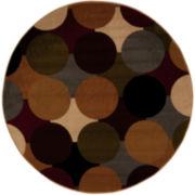 Nourison® Ariel Circles Round Rug