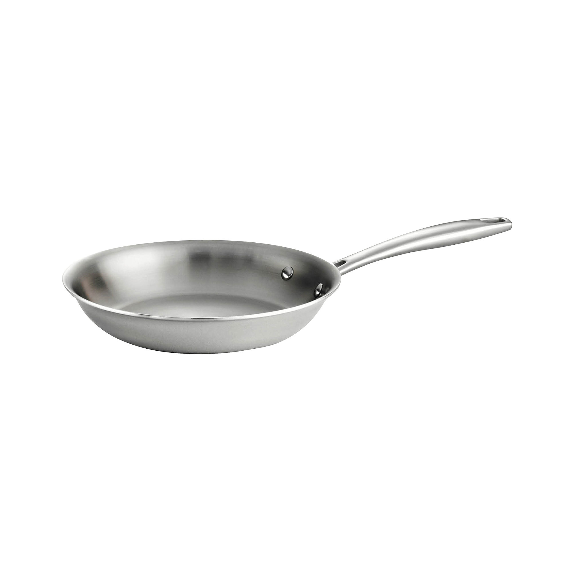 Tramontina Gourmet Tri-Ply Clad 18/10 Stainless Steel Induction-Ready Fry Pan