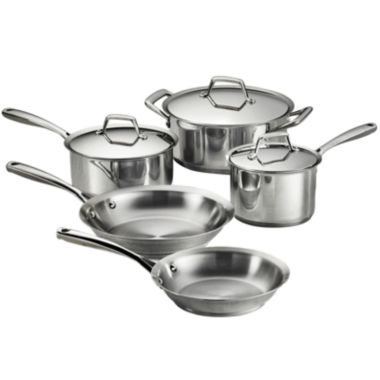 jcpenney.com | Tramontina Gourmet Prima 8-pc. 18/10 Stainless Steel Induction-Ready Cookware Set