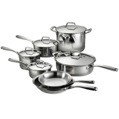 jcpenney.com | Tramontina Gourmet Prima 12-pc. 18/10 Stainless Steel Induction-Ready Cookware Set