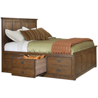 jcpenney.com | Oak Ridge 6-Drawer Storage Bed
