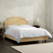 Berwyn Upholstered Velvet Bed