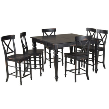 jcpenney.com | Englewood 7-pc. Counter-Height Dining Set