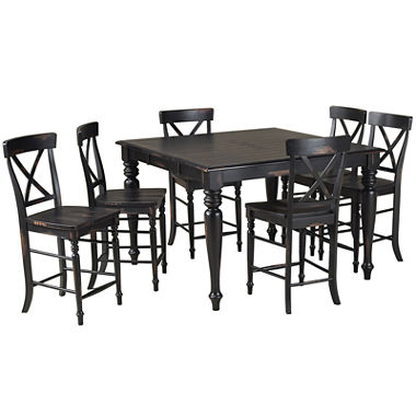 englewood 7 pc counter height dining set