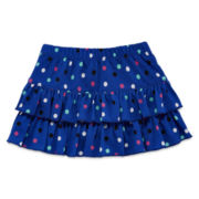 Okie Dokie® Ruffled Polka Dot Skort – Baby Girls newborn-24m