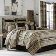 Queen Street® Skyline Chenille Plaid 4-pc. Comforter Set