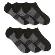 adidas® 6-pk. Graphic No-Show Socks - Boys