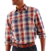 Dockers® Plaid Chambray Shirt