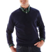 Dockers® V-Neck Cotton Sweater