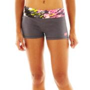 Soffe® Contrast Print Yoga Shorts