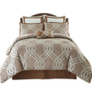 Oceanic 7-pc. Jacquard Comforter Set & Accessories