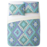 Blue Kerala 3-pc. Quilt Set