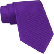 Stafford® Textured Neat Silk Tie