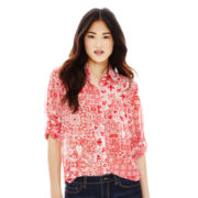 Joe Fresh™ Button-Front Shirt
