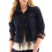 Arizona Plaid Denim Jacket