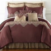 Royal Velvet® Felicity 4-pc. Comforter Set & Accessories