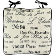 Park B. Smith® Brasserie Paris Theme Chair Cushion