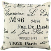 Park B. Smith® Brasserie Square Decorative Pillow