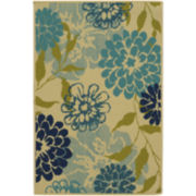 Aster Washable Rectangular Rug