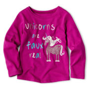 Arizona Long-Sleeve Graphic Tee - Girls 2t-6