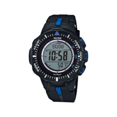 jcpenney.com | Casio® Pro Trek Tough Solar Triple Sensor Mens World Time Watch PRG300-1A2CR