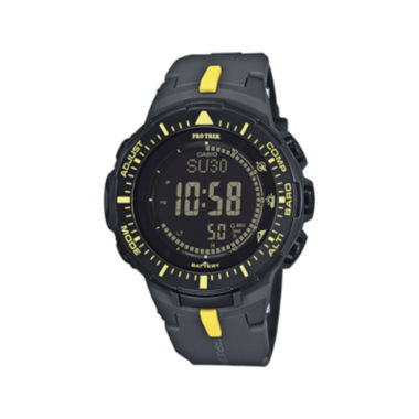 jcpenney.com | Casio® Pro Trek Tough Solar Triple Sensor Mens World Time Watch PRG300-1A9CR