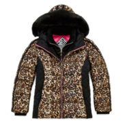 ZeroXposur® Leopard-Print Jacket - Girls 7-16